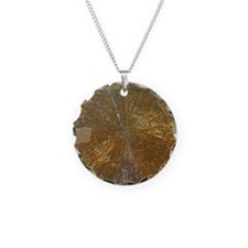 Golden mineral Necklace