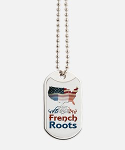 American French Roots Dog Tags