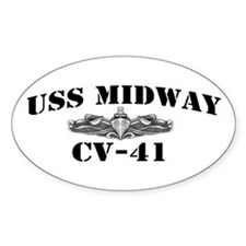 USS MIDWAY Decal