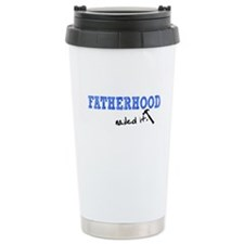 Fatherhood - Nailed It Travel Mug