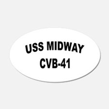 USS MIDWAY Wall Decal