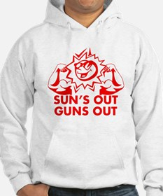 SUNS OUT! GUNS OUT! Hoodie