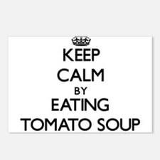 Keep calm by eating Tomato Soup Postcards (Package