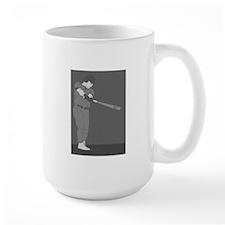 Baseball Gray Mugs