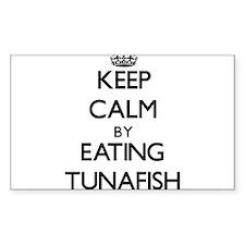 Keep calm by eating Tunafish Decal