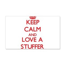 Keep Calm and Love a Stuffer Wall Decal