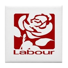 Labour Party Tile Coaster