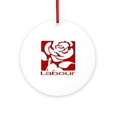 Labour Party Ornament (Round)