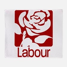 Labour Party Throw Blanket