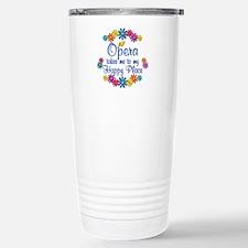 Opera Happy Place Stainless Steel Travel Mug
