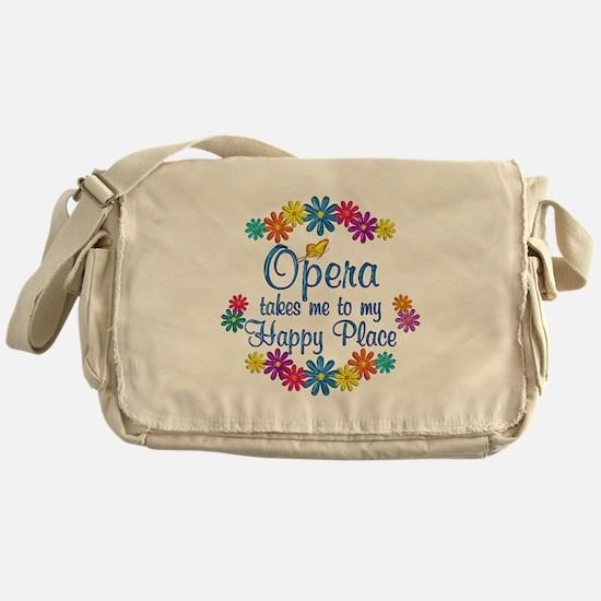 Opera Happy Place Messenger Bag