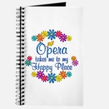 Opera Happy Place Journal