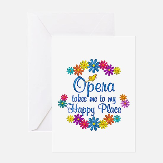 Opera Happy Place Greeting Card