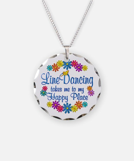 Line Dancing Happy Place Necklace