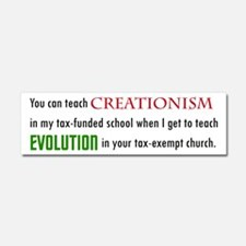 Creationism Car Magnet 10 X 3