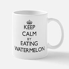 Keep calm by eating Watermelon Mugs
