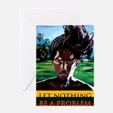 rasta series 3 Greeting Cards