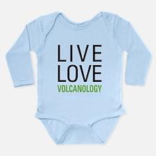 Volcanology Long Sleeve Infant Bodysuit