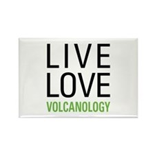 Volcanology Rectangle Magnet