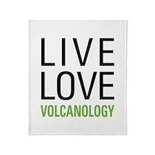 Volcanology Throw Blanket