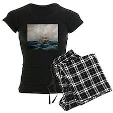 Sailing Against the Waves Pajamas