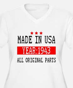 Made In Usa - 1943 Plus Size T-Shirt