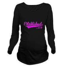 Established 1949 Long Sleeve Maternity T-Shirt