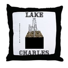 Lake Charles Throw Pillow