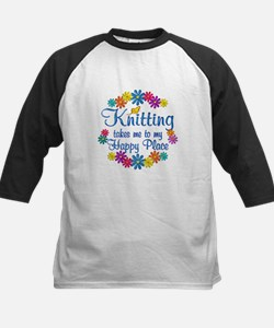 Knitting Happy Place Tee