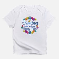 Knitting Happy Place Infant T-Shirt