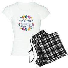 Knitting Happy Place pajamas