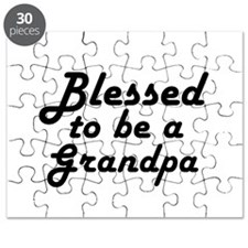 Blessed to be a Grandpa Puzzle