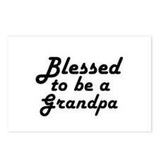 Blessed to be a Grandpa Postcards (Package of 8)