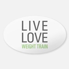 Weight Train Decal
