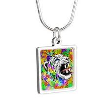 Leopard Psychedelic Paint Splats Necklaces