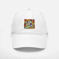 Leopard Psychedelic Paint Splats Baseball Baseball Baseball Cap