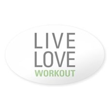 Live Love Workout Decal