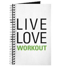 Live Love Workout Journal
