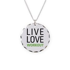 Live Love Workout Necklace