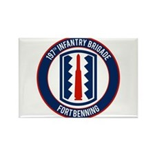 197th Infantry post Rectangle Magnet