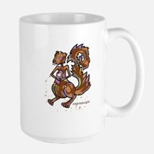 Zombie Squirrel Mugs