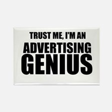 Trust Me, I'm An Advertising Genius Magnets