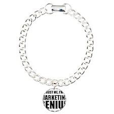 Trust Me, I'm A Marketing Genius Bracelet