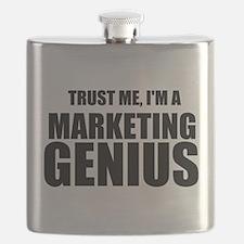 Trust Me, I'm A Marketing Genius Flask