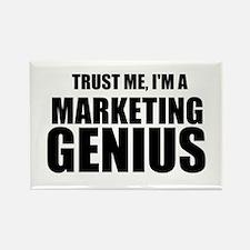 Trust Me, I'm A Marketing Genius Magnets