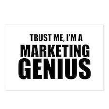 Trust Me, I'm A Marketing Genius Postcards (Packag
