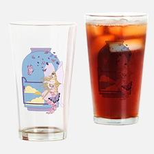 Tarot The Queen of Swords Drinking Glass