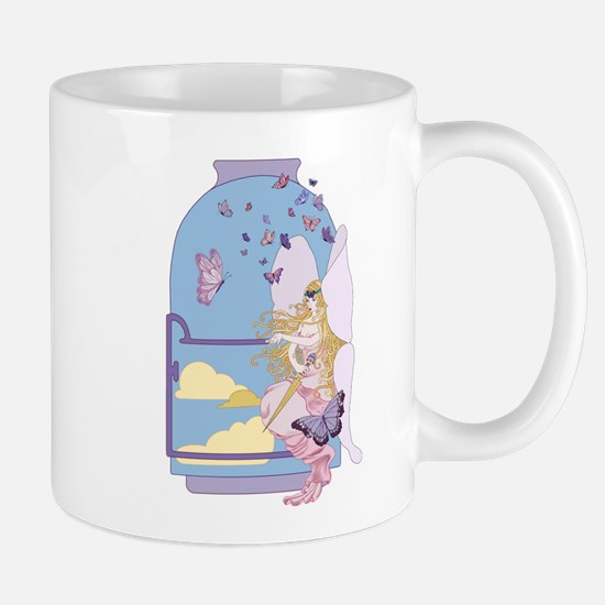 Tarot The Queen of Swords Mugs