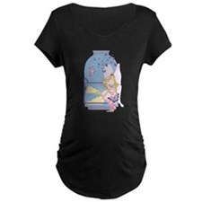 Tarot The Queen of Swords Maternity T-Shirt