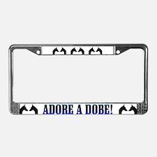 Dobe Head Profiles License Plate Frame